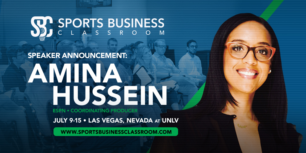 ESPN Coordinating Producer Amina Hussein to speak at SBC's TV, Online and In-Arena Broadcast Major