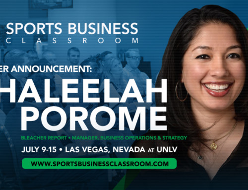 Bleacher Report's Khaleelah Porome to speak at SBC's TV, Online & In-Arena Broadcast Major