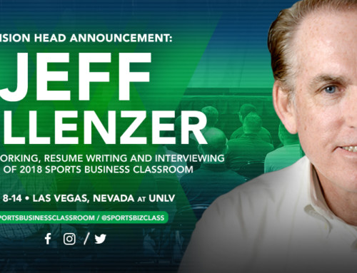 USC's Jeff Fellenzer to Lead Networking, Resume Writing and Interviewing Session at Sports Business Classroom 2018