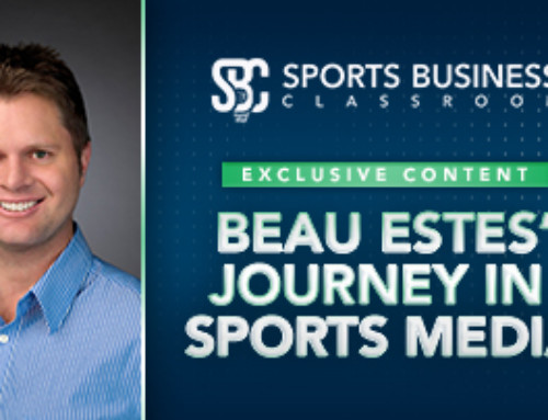 Beau Estes' Journey in Sports Media