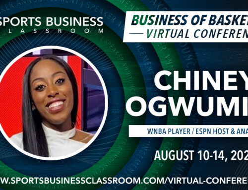 Chiney Ogwumike, WNBA Player and ESPN Host & Analyst, to be a featured speaker at SBC 2020 Virtual Conference