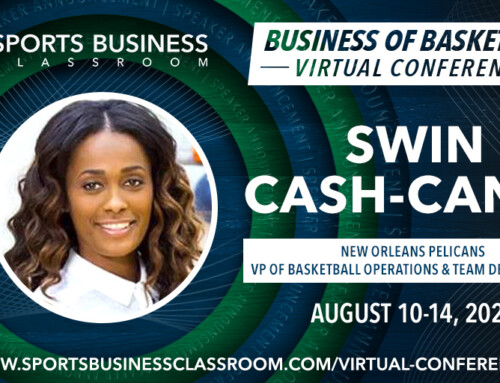 Swin Cash-Canal, New Orleans Pelicans VP of Basketball Operations & Team Development, to be a featured speaker at SBC 2020 Virtual Conference