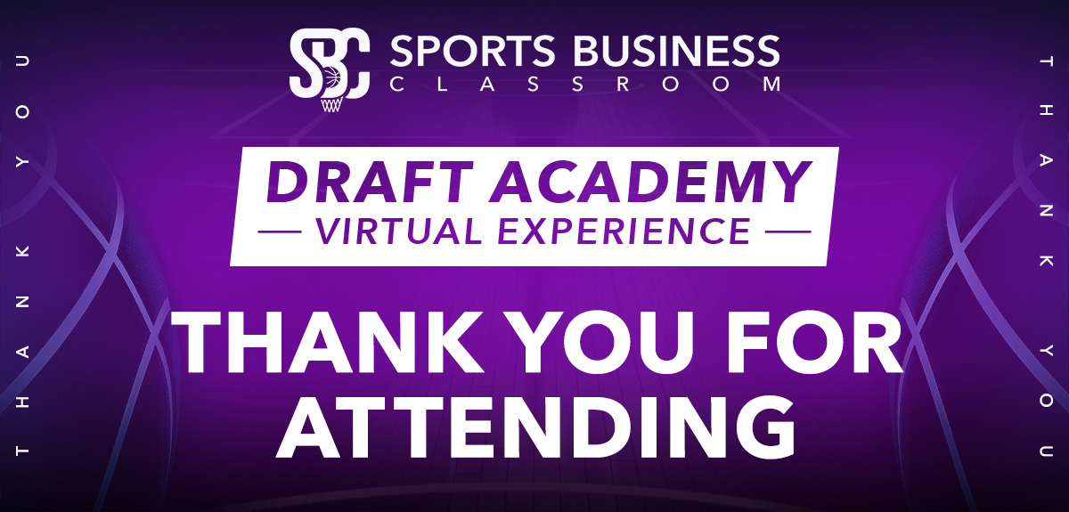SBC Draft Academy Thank You